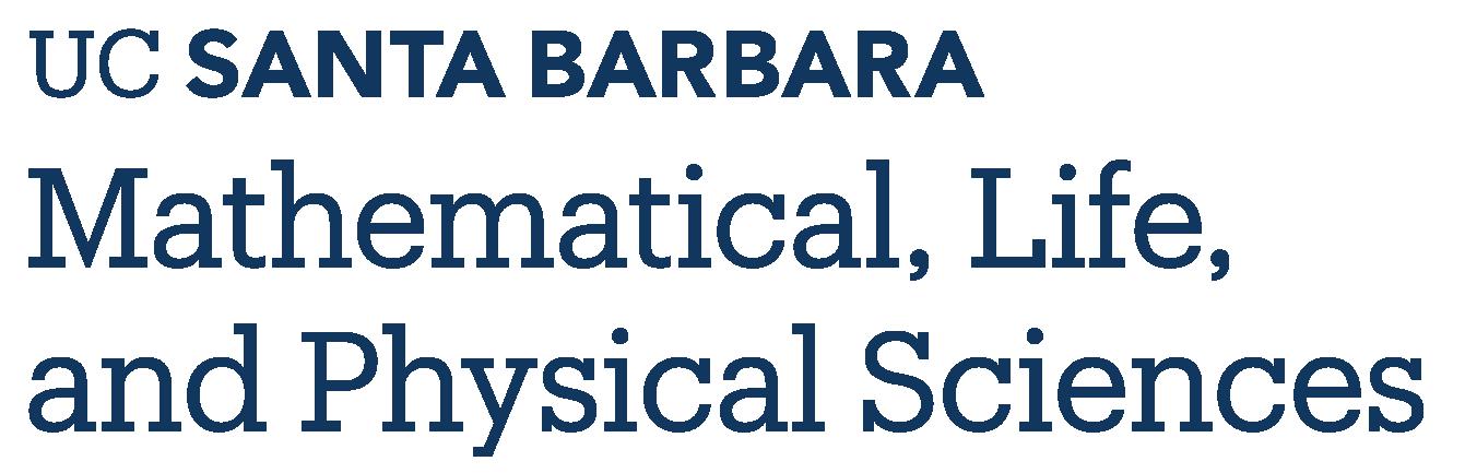 Division of Mathematical Life and Physical Sciences - UC Santa Barbara
